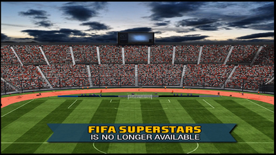 FIFA Superstars is no longer available