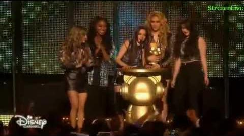 Fifth Harmony wins Best Music Group - Radio Disney Music Awards 2015