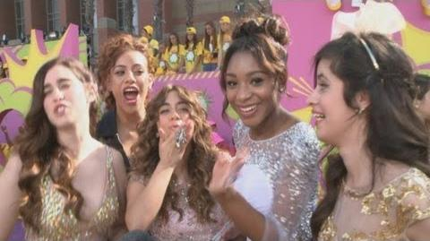Kids Choice Awards 2013 Fifth Harmony OBSESS over One Direction at the Kids' Choice Awards!-0