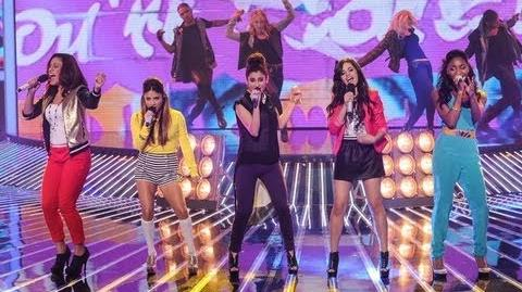 "Fifth Harmony ""Give Your Heart a Break"" - Live Week 6 - The X Factor USA 2012"