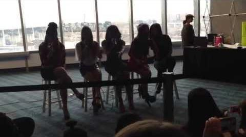 RED - FIFTH HARMONY 3 27 14 CLEVELAND, OHIO