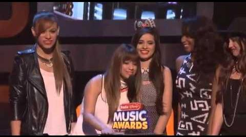 Fifth Harmony Presenting Favorite Song at the RDMA's