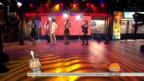 Fifth Harmony performing Better Together on the Today Show