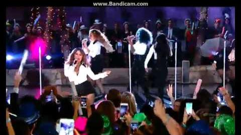 Fifth Harmony - Sledgehammer (Live on PitbullNYE 2015 12 31 14) HD