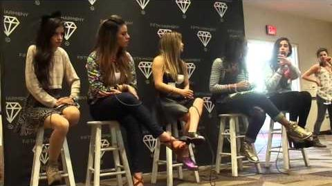 Fifth Harmony Soundcheck Houston Texas 2 19 2014