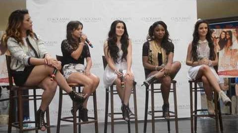 Fifth Harmony Q&A - Portland Oregon 08 14 13