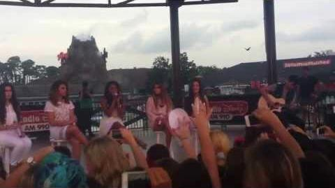 Fifth Harmony at Downtown Disney 7 25 13