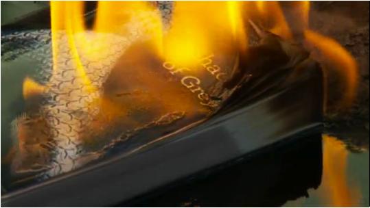 50 shades burning book
