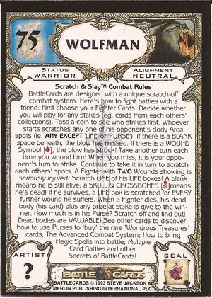 75 Wolfman US back