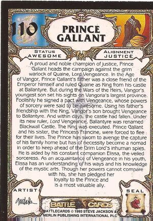 110 Prince Gallant US back