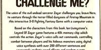 Legend of Zagor (boardgame)
