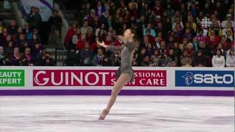 2013 Worlds Yuna Kim FS Les Miserables (CBC)