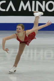 Junior World Championships 2008 Rachael FLATT SP