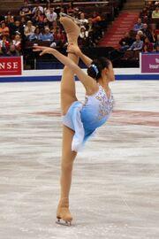 Caroline Zhang Spiral 2008 Skate Canada