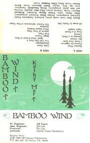 Bamboo Wind Front