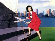 Madam Mayor ribon cutter