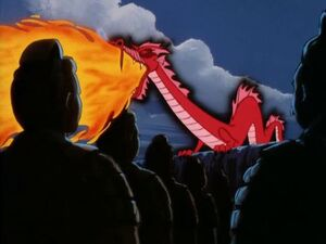 Dragon wakes his army