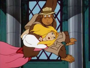 Tracy saves the Princess