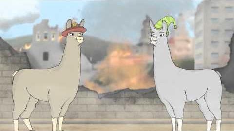 Llamas with Hats 3