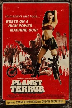 Planet Terror poster