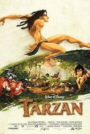 Tarzan (1999 film) - theatrical poster.jpg