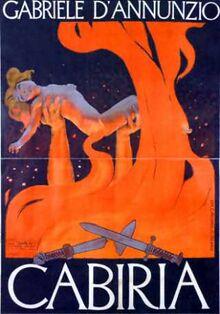 Cabiria-poster