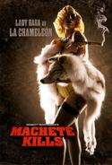 Machete kills gaga poster
