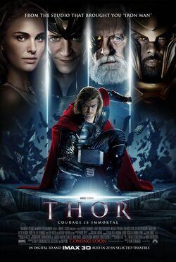 Thor God of Thunder poster