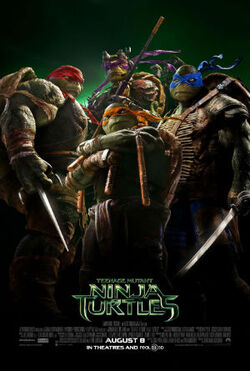 Teenage Mutant Ninja Turtles film July 2014 poster2