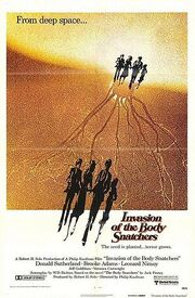 Invasion of the body snatchers movie poster 1978