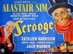 Scrooge – 1951 UK film poster