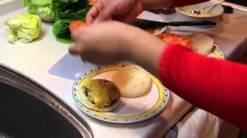 Rice Muffin Burgers