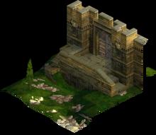 Back Gate of Lesalia Castle 1