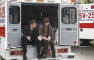 At the ambulance