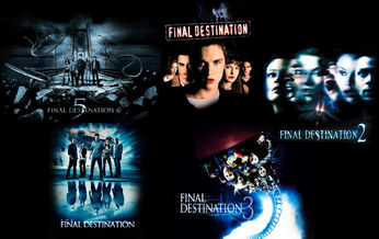 Final Destination Series Collage