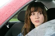 Wendy in car