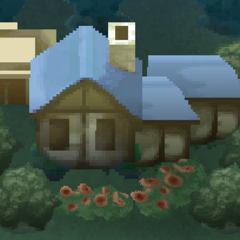 Render of Troia Town (iOS).