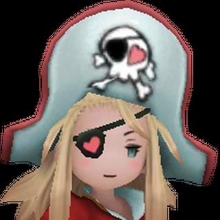 Edea as a Pirate.