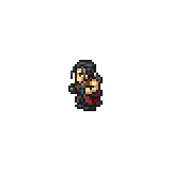 Young Auron sprite.