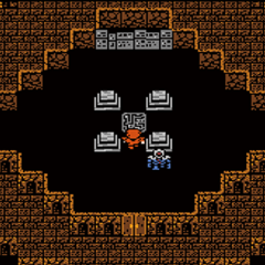 The japanese dungeon image for <i>Flying Fortress</i> in <i><a href=