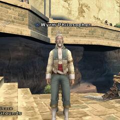 Wyrm Philosopher in Mt Bur-Omisace.