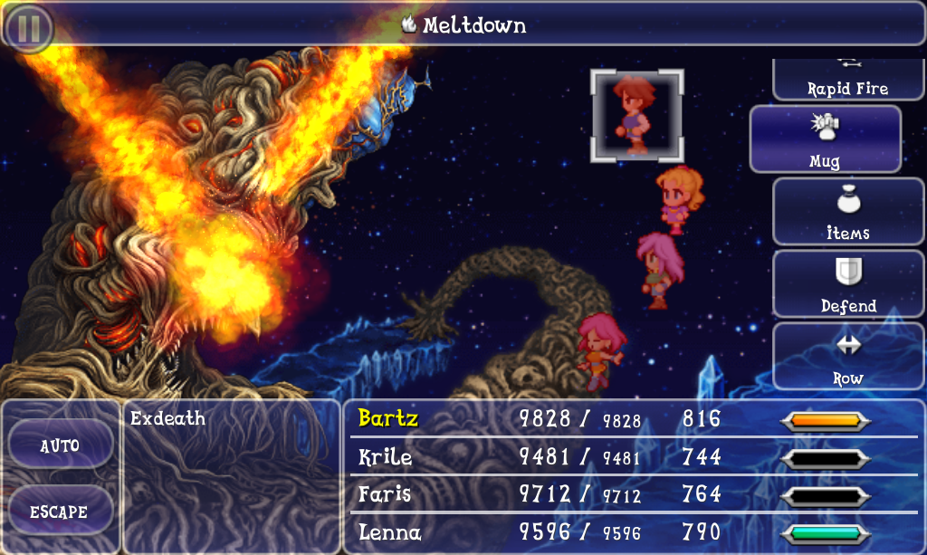 meltdown magic final fantasy wiki fandom powered by