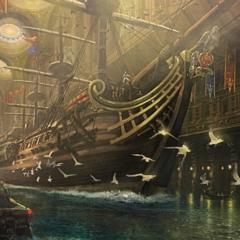 Altissia sailing ship.