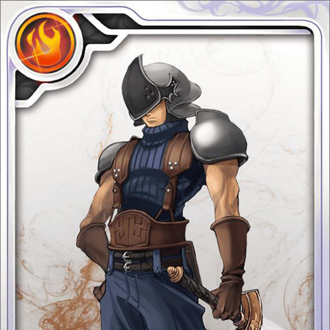 A Rank N SOLDIER 3rd Class card.