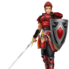 The Warrior's third EX Mode in <i>Dissidia 012 Final Fantasy</i>, based on the NES Knight.