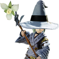 Conjurer render for <i>Final Fantasy XIV: A Realm Reborn</i>.