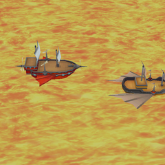 <i>Enterprise</i> and Red Wings airship (iOS).