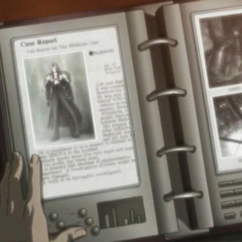 Sephiroth's profile.