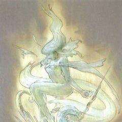 Vanille crystal stasis concept art.