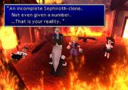 Sephiroth's lies